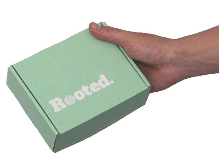 rooted cannabis group delivery services box